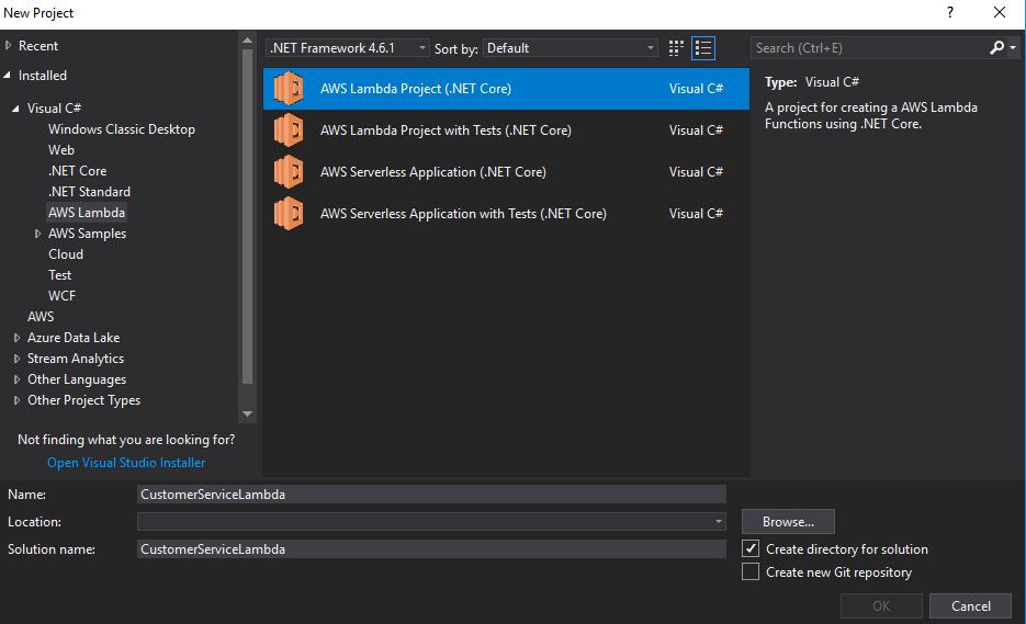 Create the Serverless Microservice with AWS Lambda and API