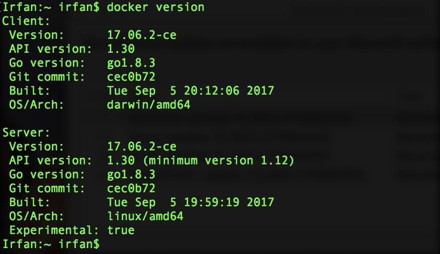 Running SQL Server 2017 Docker Container in Linux VM on Mac